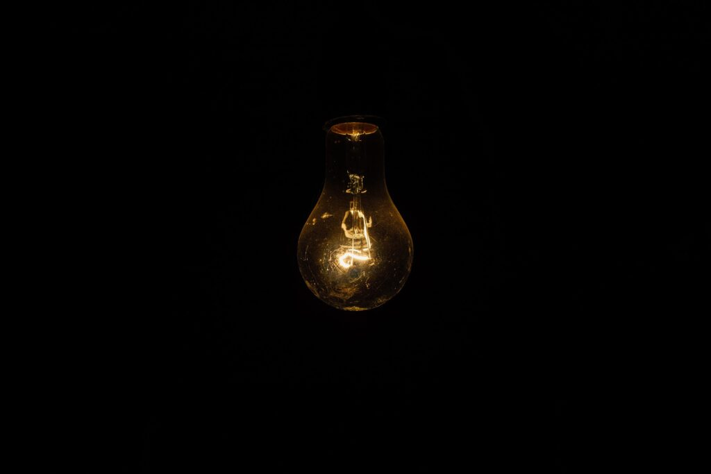 Lampada, inspeção predial
